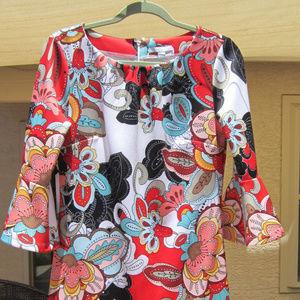 New York & Company Pucci-style dress, sz M